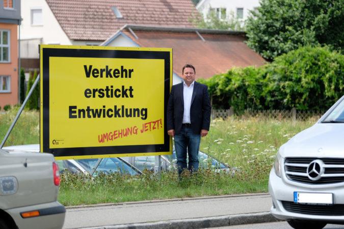 B 312 Ortsumfahrungen – Gerster kritisiert schneckenhaft langsame Planung des Landes