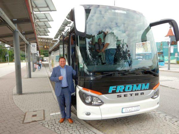 MdB Gerster bietet Busfahrt über die Alb zur Baustellenbesichtigung