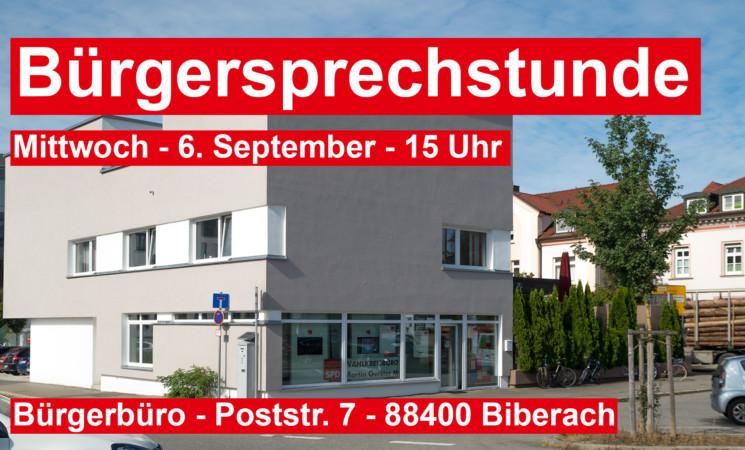 Bürgersprechstunde bei MdB Gerster