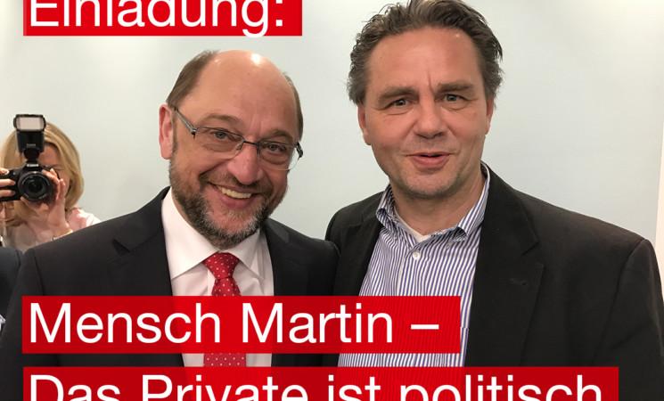 """""""Mensch Martin"""" - Schulzbiograph kommt nach Biberach"""