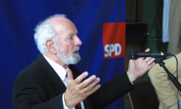 Ernst Ulrich von Weizsäcker beim Neujahrsempfang der Kreis-SPD