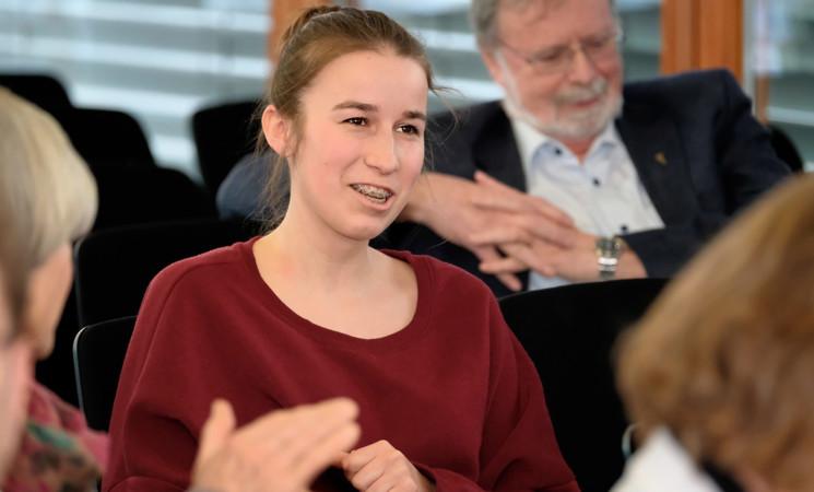 Als Vertreterin des Bundestags in die USA