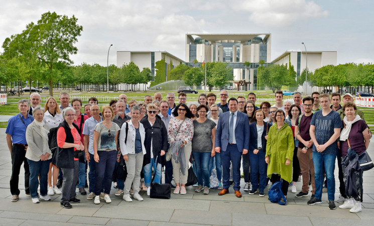 Politische Bildungsfahrt nach Berlin