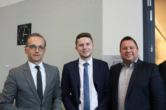 """Vier Tage im Deutschen Bundestag: Eberhardzeller nimmt am Planspiel """"Jugend und Parlament"""" teil"""