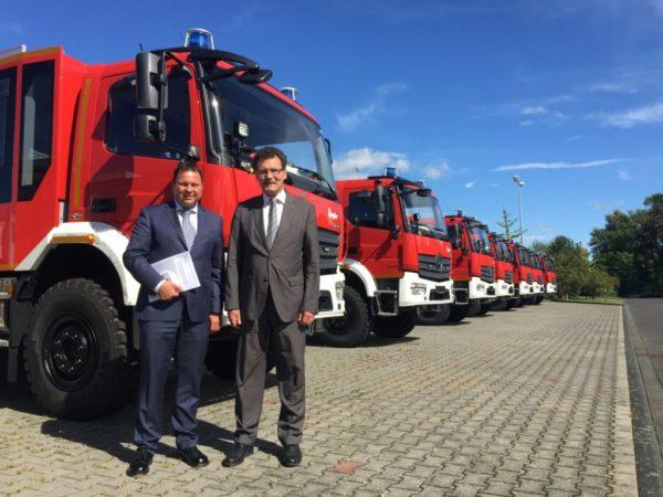 Koalition stärkt Feuerwehren mit 100 Mio. Euro