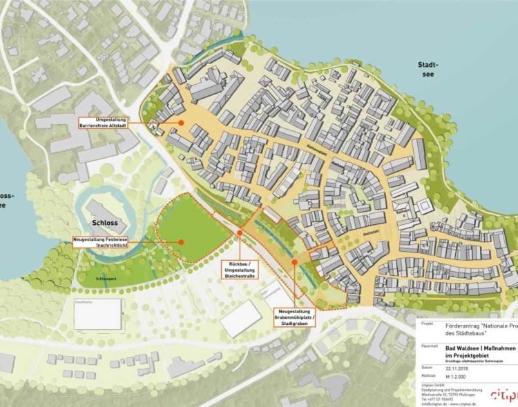 """Bund fördert """"Altstadt für Alle"""" Bad Waldsee mit 4,46 Mio. Euro"""