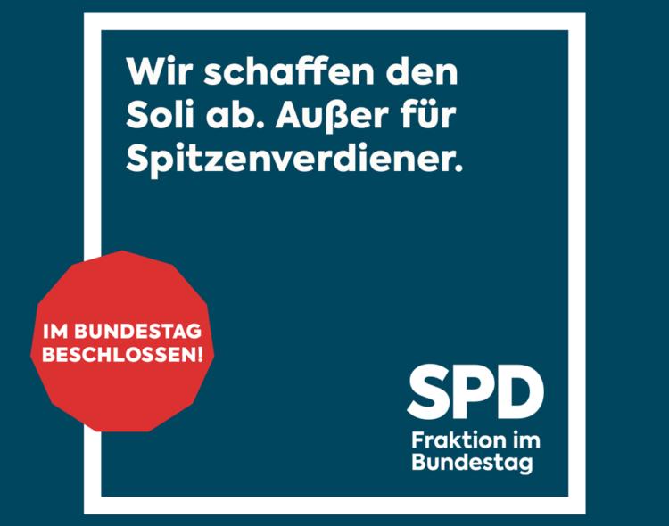 Ab dem Jahr 2021: Martin Gerster, MdB, freut sich über weitgehende Soli-Abschaffung