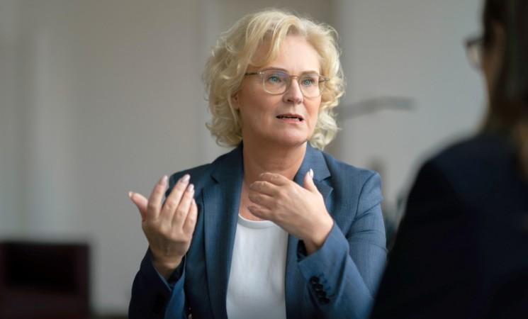 Bundesjustizministerin Lambrecht zu Gast in Biberach
