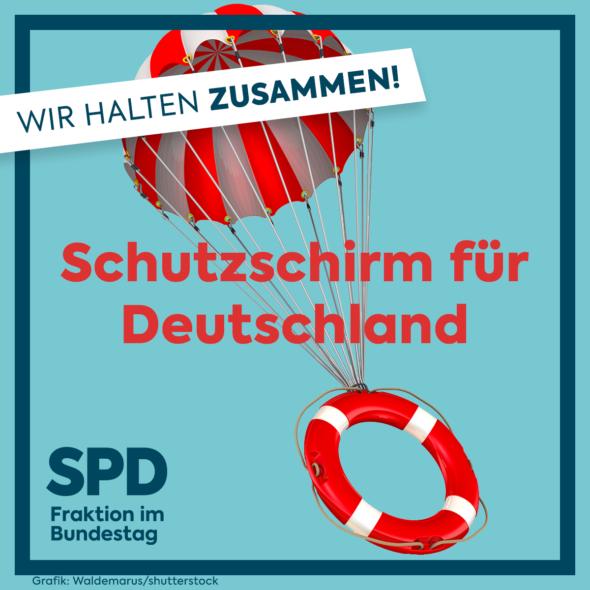 """Bundestag bringt """"Schutzschild für Deutschland"""" auf den Weg"""