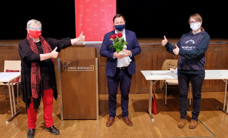 Bundestagsnominierung der SPD: 100 Prozent für Martin Gerster