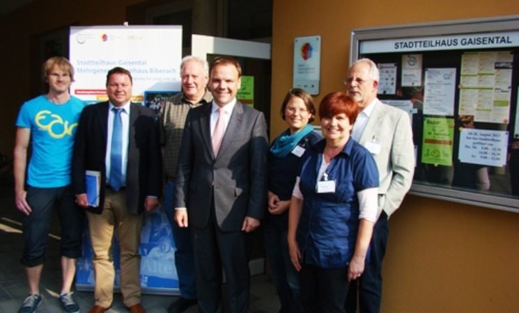Förderung für Mehrgenerationenhäuser verlängert: 320.000 Euro für das Stadtteilhaus Gaisental