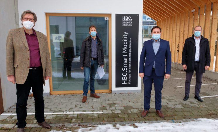 Rund eine viertel Million Euro für nachhaltige Mobilität an der Hochschule Biberach