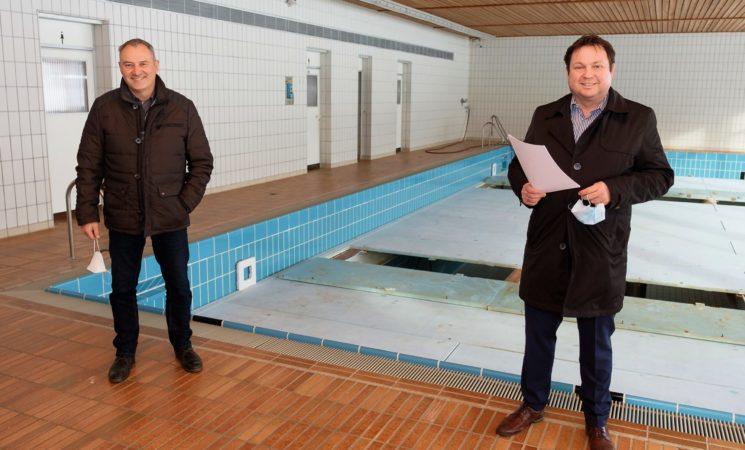 Knapp 1,8 Millionen Euro zur Modernisierung der Schwimmhalle Eberhardzell
