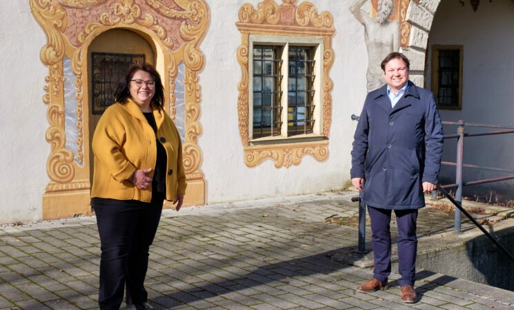 Knapp 1,5 Millionen Euro zur Sanierung des Oberen Tors in Rot an der Rot