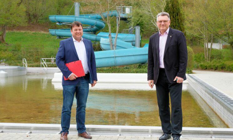 Bund fördert das neue Freibad: 3 Millionen Euro für Biberach
