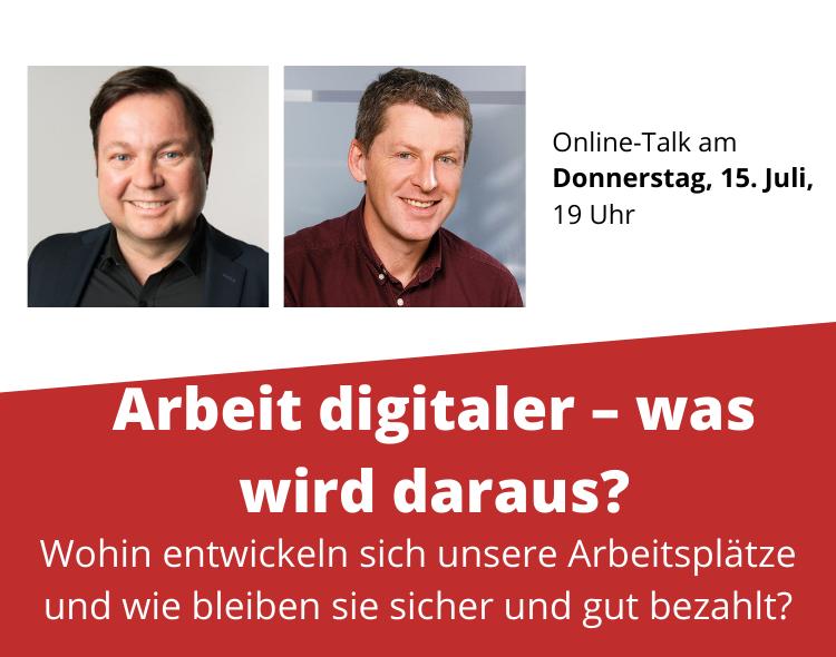 """2. Biberacher Gespräch: """"Arbeit digitaler – was wird daraus?"""""""