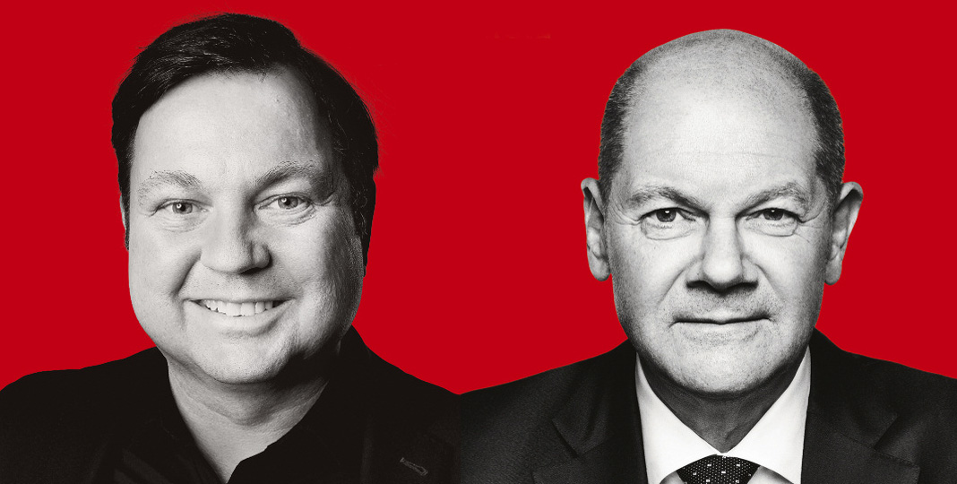 Martin Gerster und Olaf Scholz